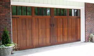 Wood-Panel-Garage-Doors