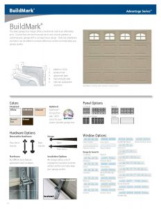 BuildMark ♦ Affordable Steel Garage Doors with a Traditional Look