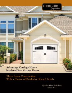 Advantage ♦ Insulated Steel Carriage House Garage Doors