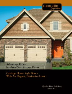 Advantage Estate Insultated Steel Garage Doors by General