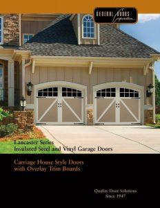 Lancaster Series ♦ Insulated Steel & Vinyl Garage Doors