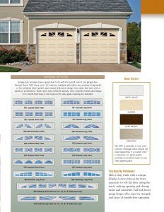 ModelSRP 24 Gauge Steel Panel Insultated Steel Garage Doors by General
