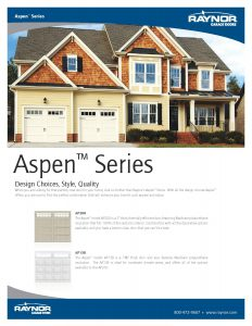Morton Aspen Residential Steel Carriage House Garage Doors by Raynor